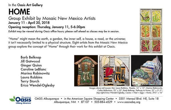 Jan 11 · Mosaic Artists of New Mexico Exhibit — Nextdoor