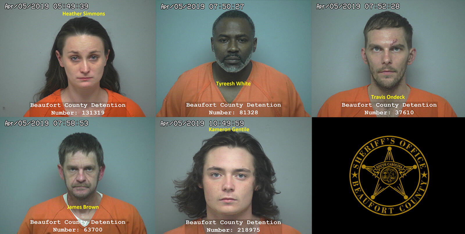 Five arrested for heroin and other illegal drugs following a