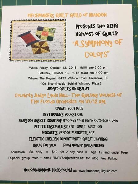 Oct 12 Quilt Show By Piecemakers Quilt Guild Nextdoor