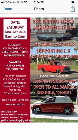 May 12 · C K McClatchy High School Car Show — Nextdoor