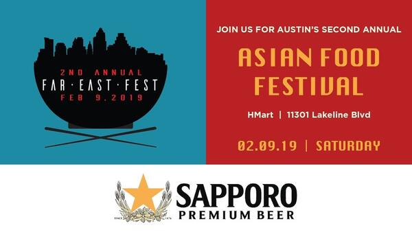 Feb 9 · Far East Fest - All you can eat Asian food festival - Hmart