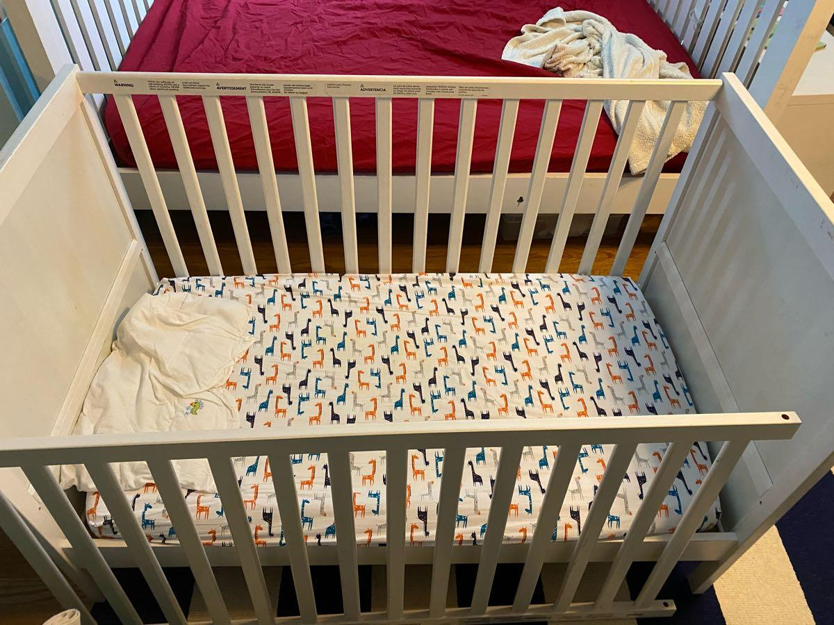 Free Ikea Sundvik Crib And Sheets Nextdoor