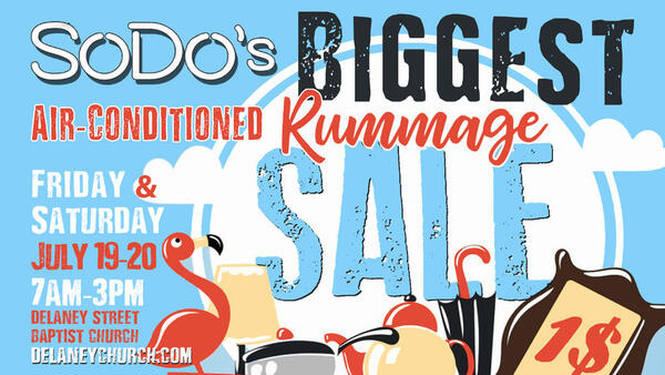 Jul 19 · SoDo's Biggest Air-Conditioned RUMMAGE SALE — Nextdoor