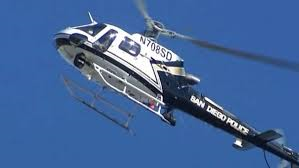 SDPD Helicopter Announcement Program, Check Nextdoor com for the