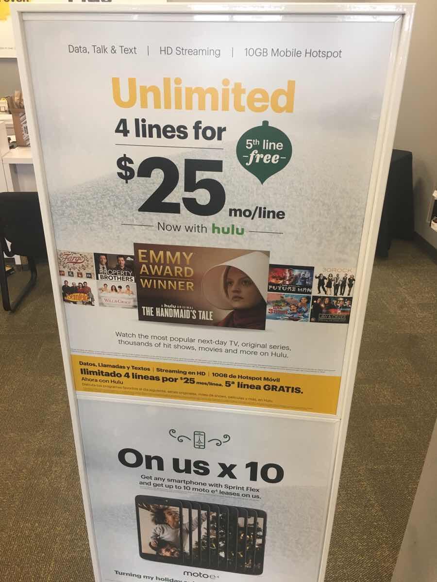 Dec 16 · Sprint 5 Lines For $100 — Nextdoor