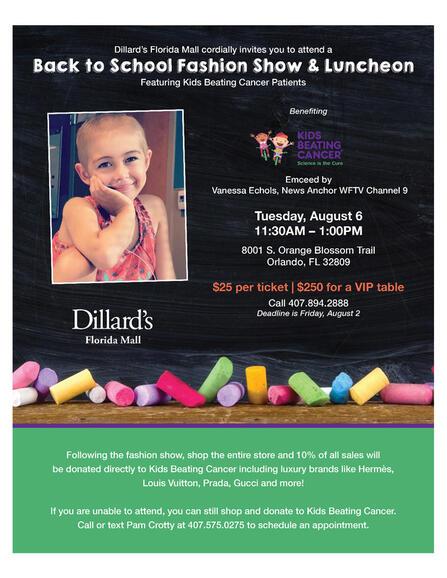 Aug 6 · Dillard's at Florida Mall Back to School Fashion