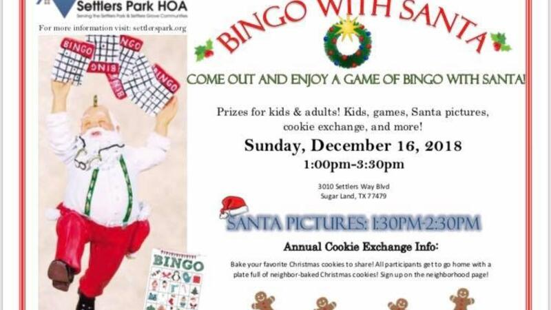 Dec 16 Santa Bingo And Annual Cookie Swap Nextdoor