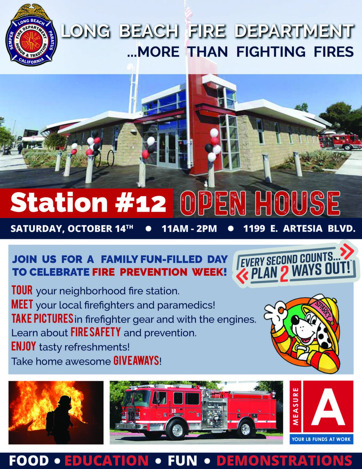 Station 12 to Host Fire Safety Prevention Week Open House (City of ...