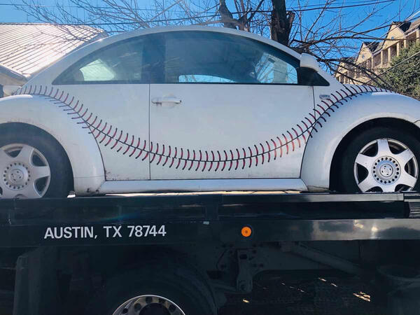 $123456 · 2000 VW Beetle Wrigley Field Cracker Jack Fast