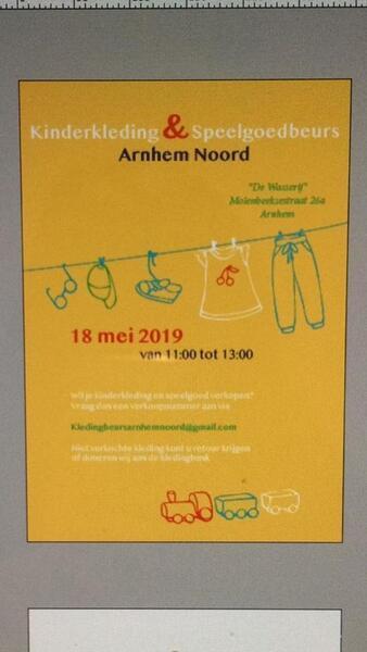 fc9a306cb96e65 18 mei 2019 · Kinderkleding en speelgoedbeurs Arnhem Noord — Nextdoor