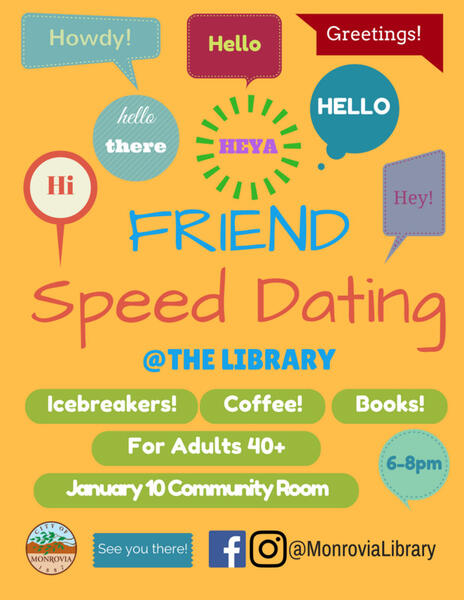 friend speed dating near me