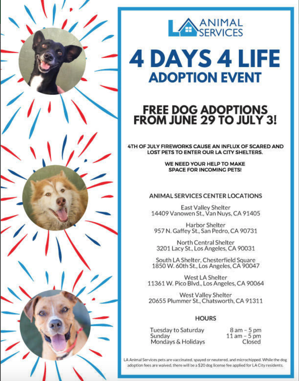 4 Days 4 Life Pet Adoption Empowerla Nextdoor