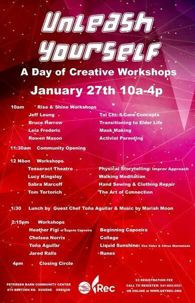 Jan 27 · Unleash Yourself: Day of Workshops — Nextdoor