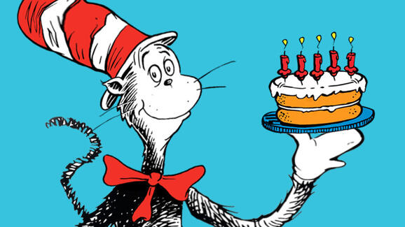 Groovy Mar 2 Dr Seuss Birthday Party Nextdoor Funny Birthday Cards Online Alyptdamsfinfo