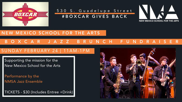 Feb 24 · Jazz Brunch @ Boxcar — Nextdoor