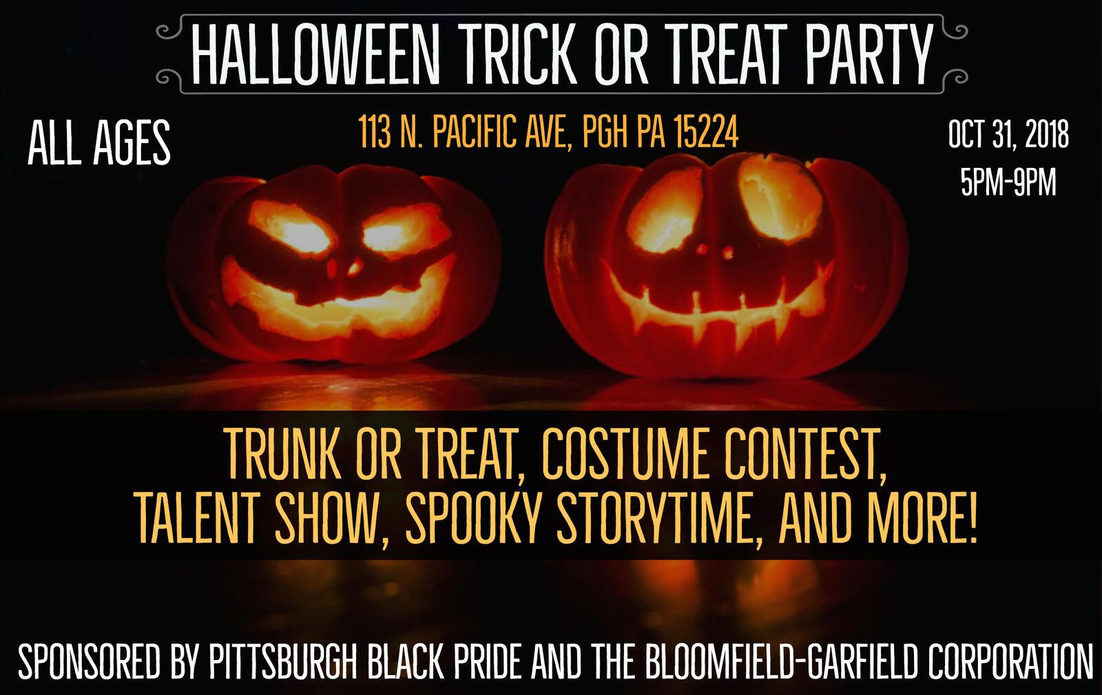 oct 31 · halloween trick-or-treat along penn ave and party! — nextdoor