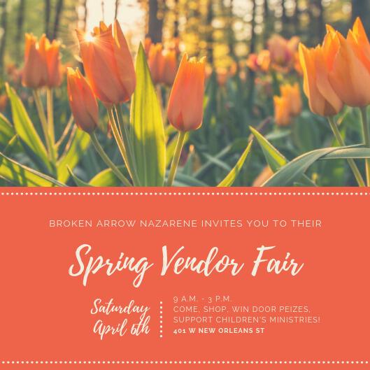 Apr 6 · Spring Vendor Fair – Nextdoor