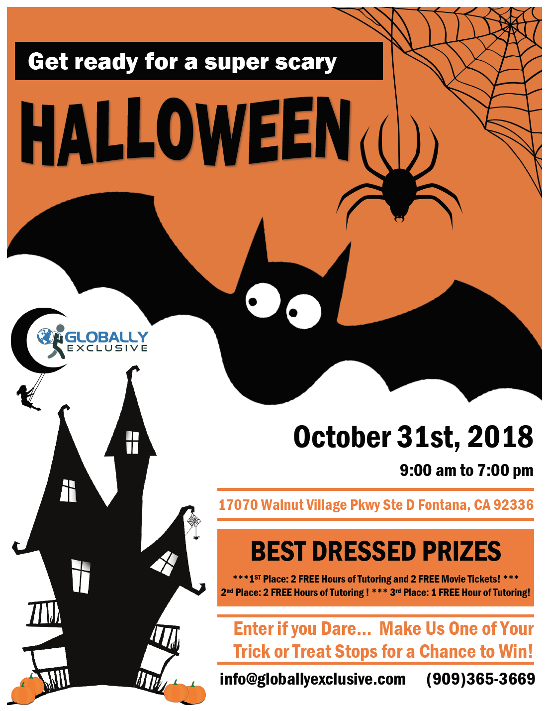 Oct 31 Happy Halloween Nextdoor