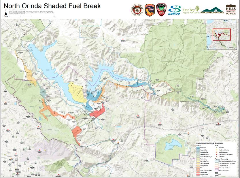 North Orinda Shaded Fuel Break Project - Update (Moraga