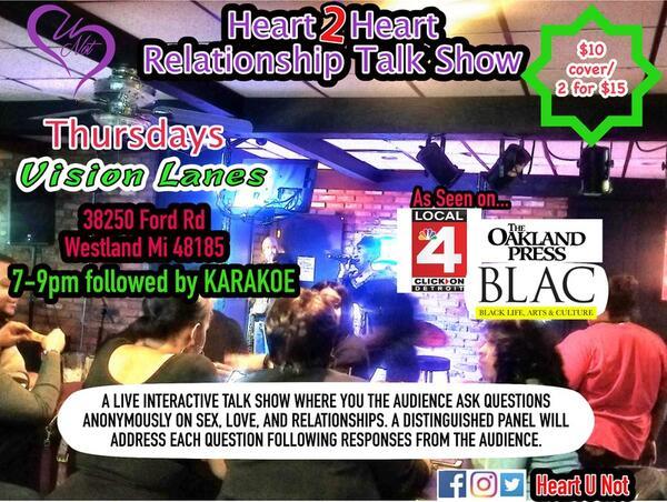 Mar 21 · Heart 2 Heart Relationship Talk Show — Nextdoor