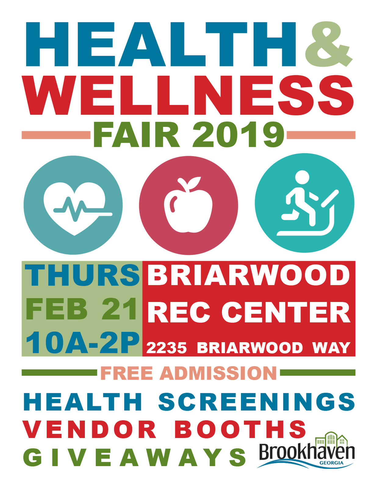 Get a head start on your health by attending Brookhaven Health