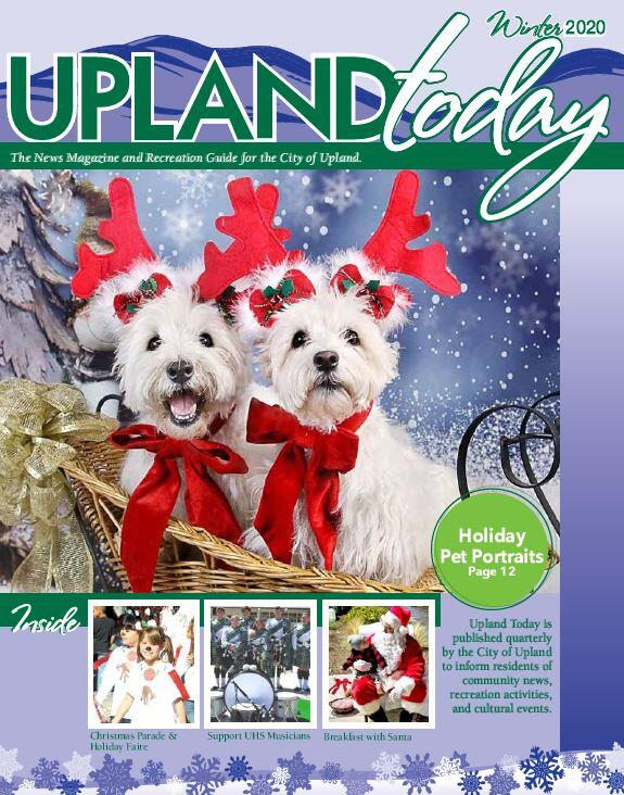 2020 Upland Christmas Parade 2019 2020 Winter Upland Today News Magazine Available Online