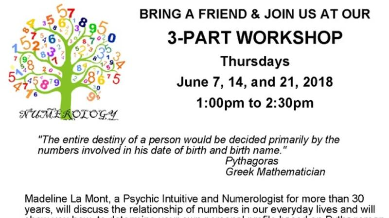 Jun 7 · NUMEROLOGY,Learn about the Science of Numbers — Nextdoor