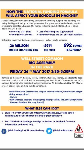 26 May 2017 · Big Assembly, Well Street Common tomorrow
