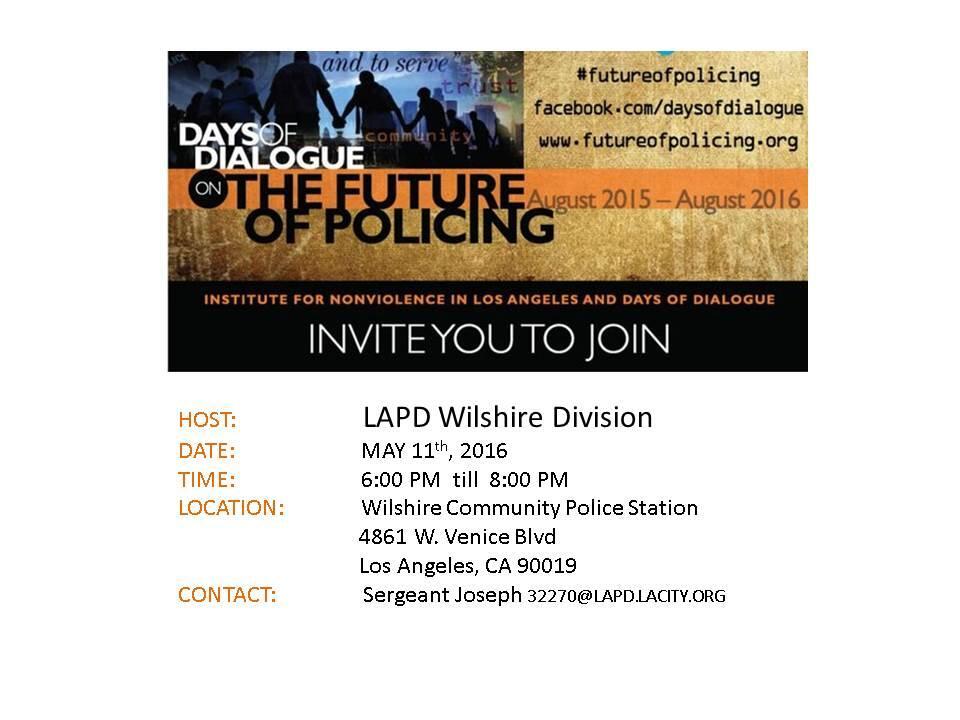 You are invited       (Los Angeles Police Department) | Nextdoor