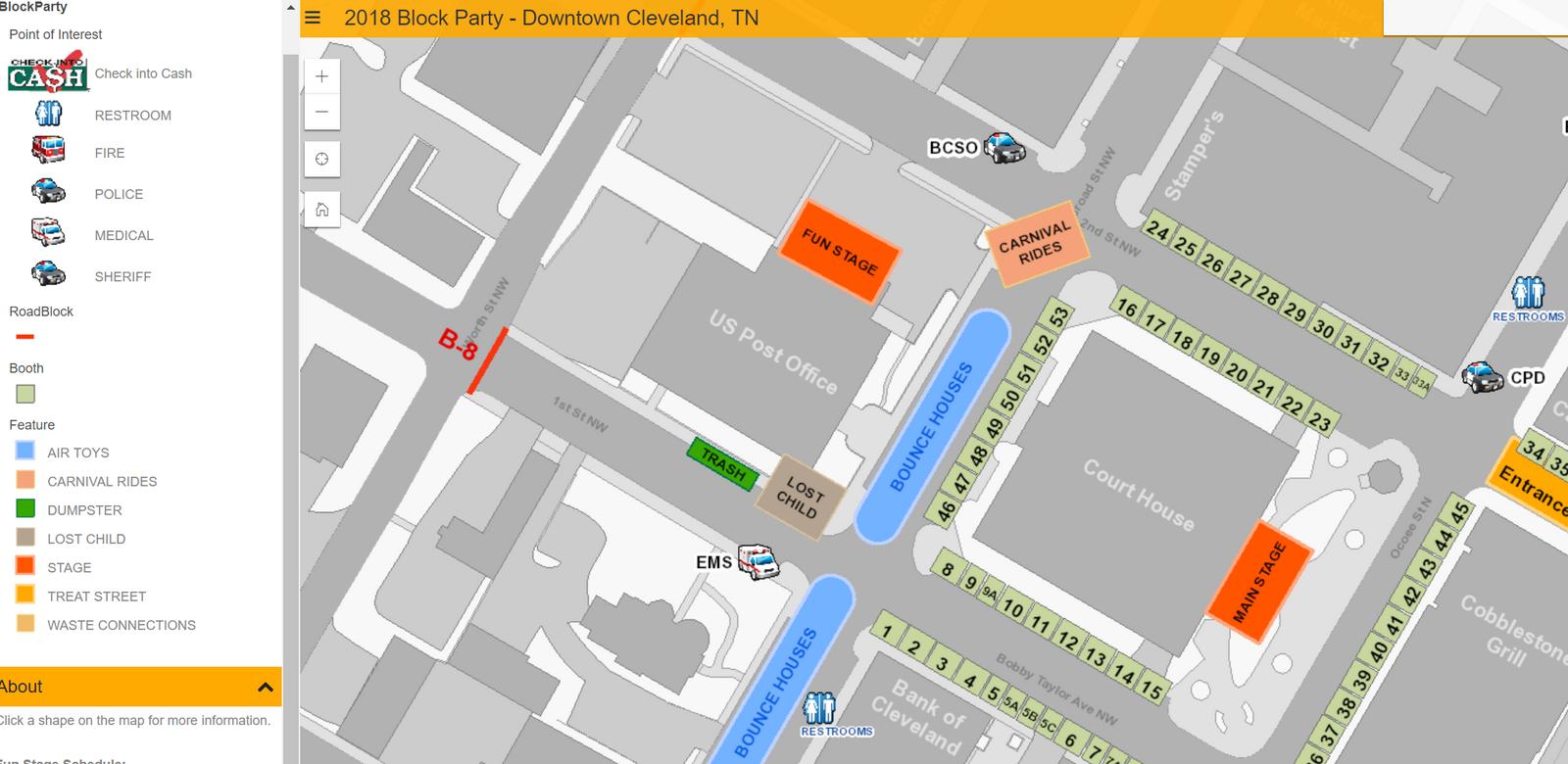Halloween Block Party Map (City of Cleveland) — Nextdoor ...