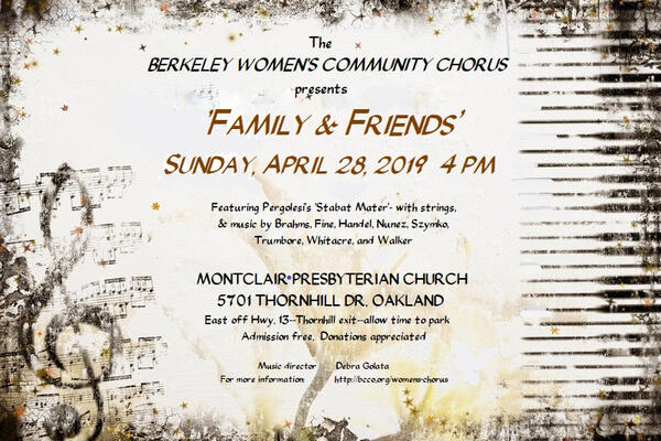 Apr 28 · Music Celebrating Family & Friends — Nextdoor