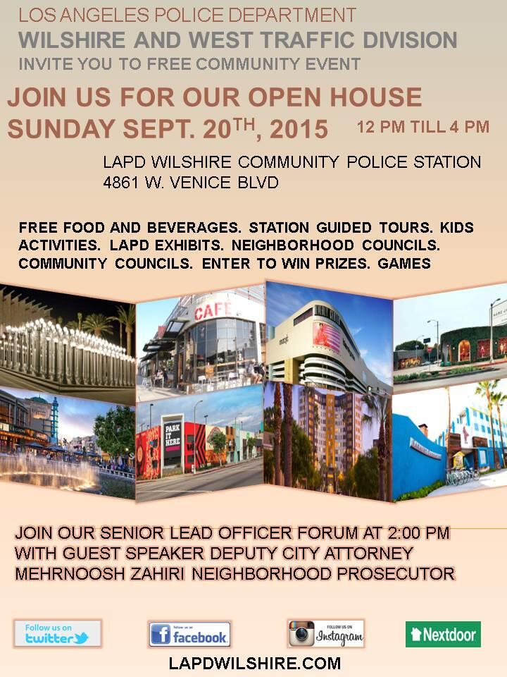 LAPD Wilshire & West Traffic Division Open House (Los