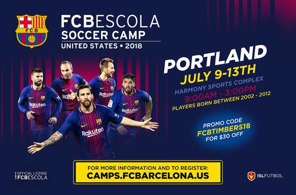 Jul 9 Fc Barcelona Soccer Camp Nextdoor