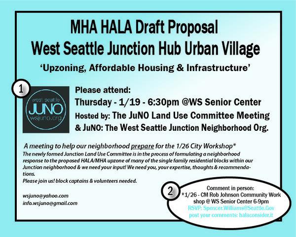 Jan 19 · JuNO Neighborhood MHA HALA Workshop — Nextdoor