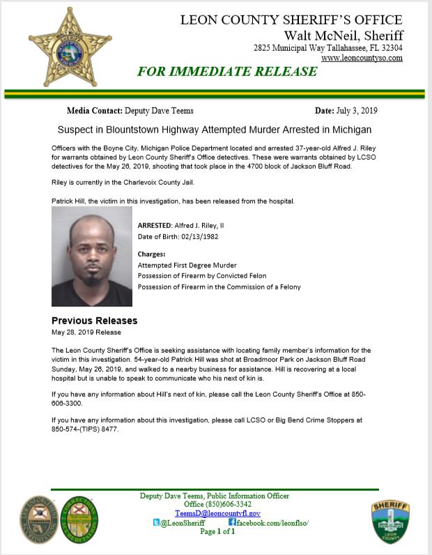 Leon County Fl Sheriff Warrants