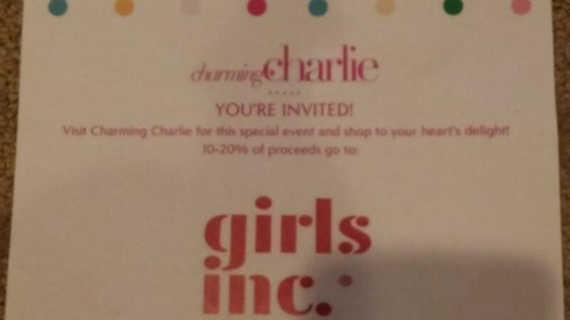 Oct 28 · You're Invited:Charming Charlie shop for Girls Inc