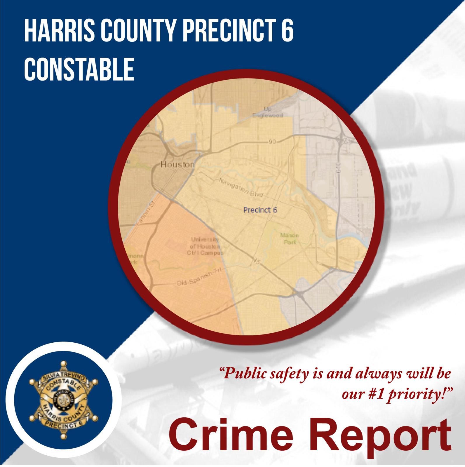 Precinct 6 Crime Report - Greater Fifth Ward (Harris County ... on