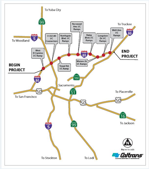 Traffic Alert - Work Begins Tonight on I-80 (City of West