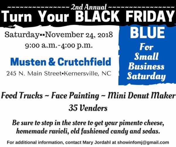 Nov 24 · Turn Your Black Friday Blue For Small Business