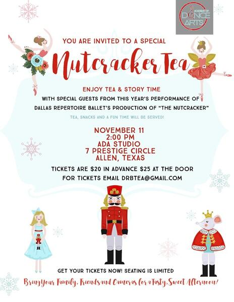Nov 11 · Nutcracker Tea — Nextdoor