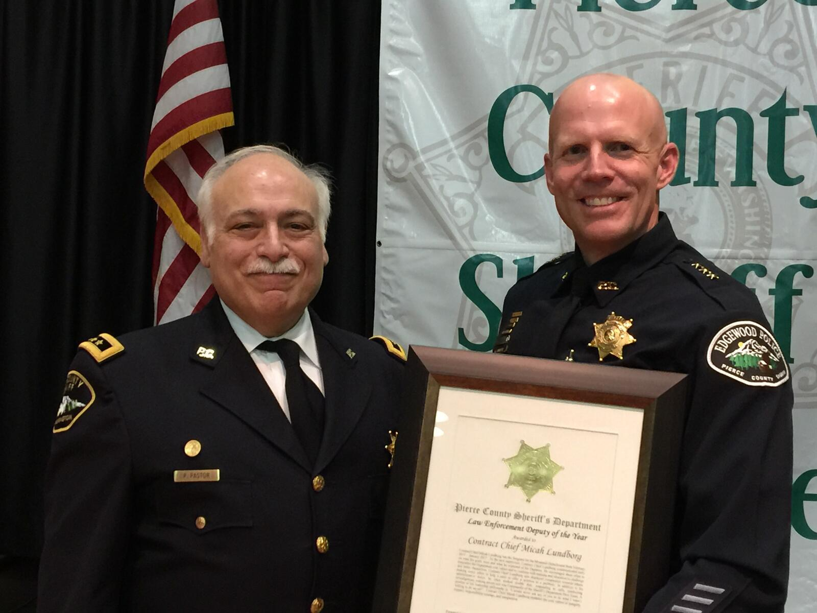 Pierce County Sheriff's Department Annual Awards Ceremony