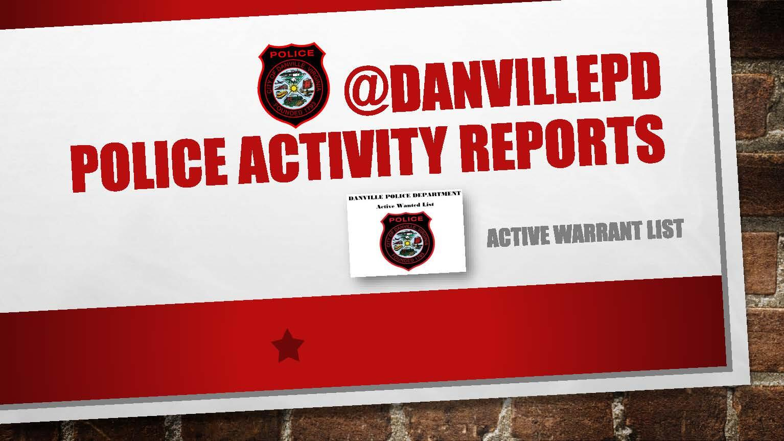 Active Warrant List Now Available (City of Danville Police