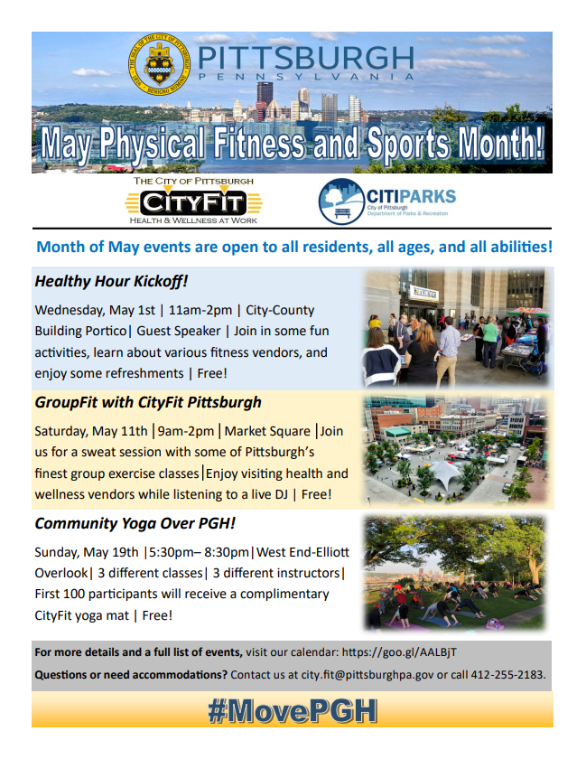 Today - Healthy Hour Kickoff! (Community Affairs) &mdash