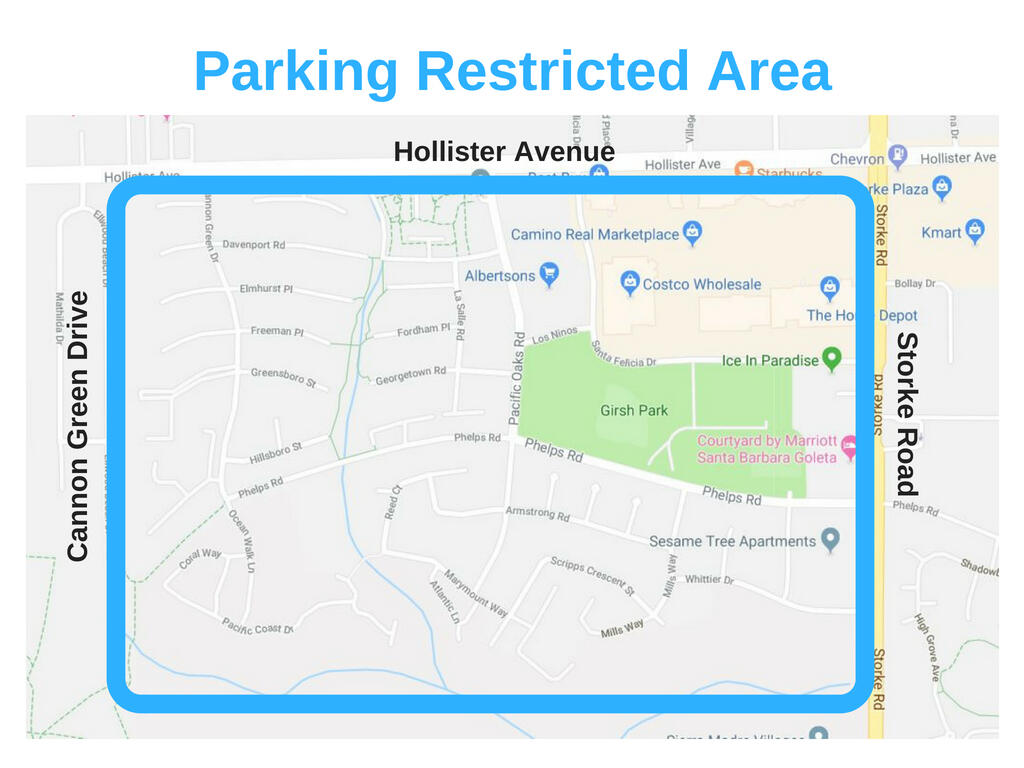 halloween parking program for residents (city of goleta) | nextdoor