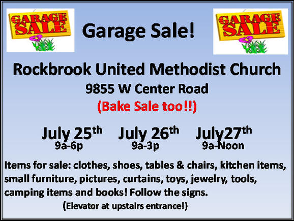 Jul 25 · Gigantic Church Garage Sale! — Nextdoor