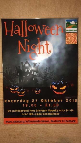 Ypenburg Halloween.27 Okt 2018 Halloween 2018 27 Oktober 19 00 Uur Tot