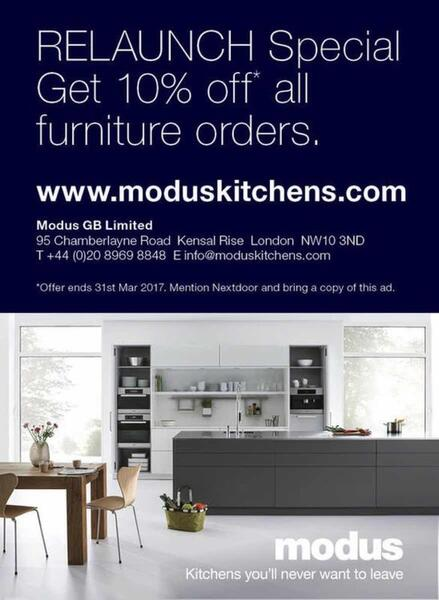 5 mar 2017 modus kitchens relaunch 10 off all furniture nextdoor rh nextdoor co uk how much does a new kitchen cost uk 2018