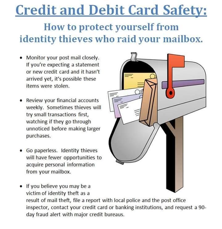 Crime Alert Identity Theft From Stolen Mail Westmont Police Department Mdash Nextdoor Nextdoor
