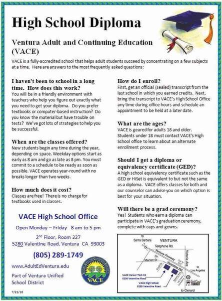Aug 17 Free High School Diploma Program For Adults Nextdoor