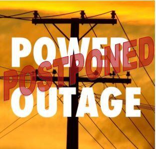POSTPONED - PG&E Power Outage (City of Benicia) &mdash